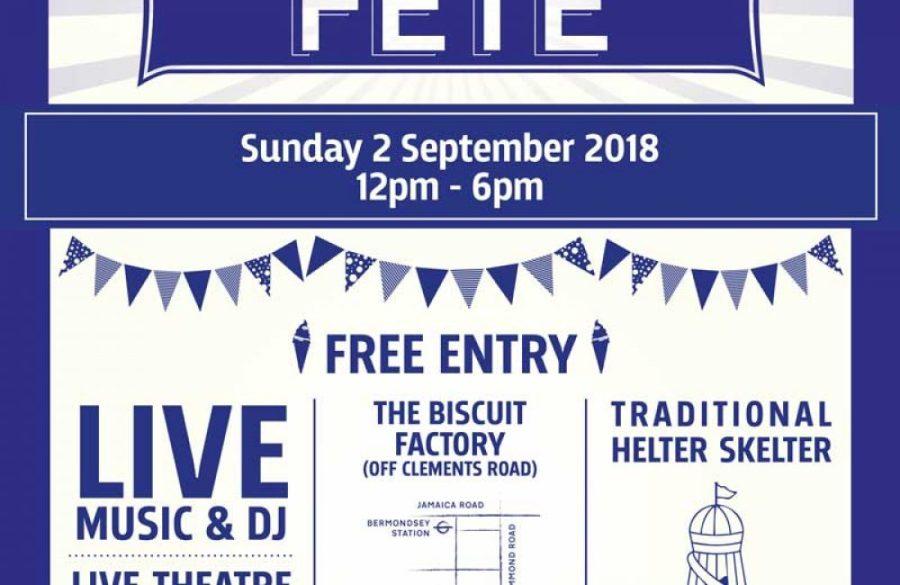 Grosvenor presents The Bermondsey Summer Fete 2018