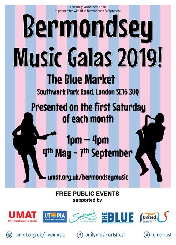 Blue Bermondsey Music Galas