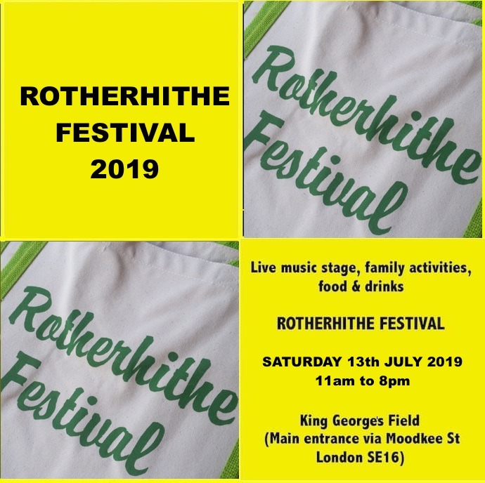 Rotherhithe Festival 2019