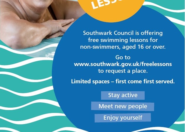 Southwark free swimming lessons