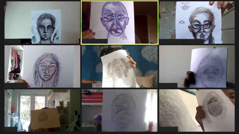 Young carers in Southwark take part in online creative arts project
