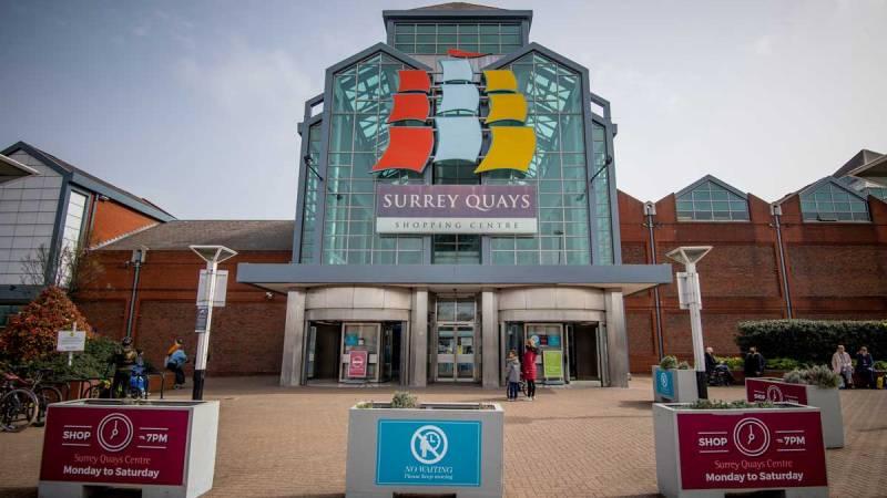 Surrey Quays Shopping Centre