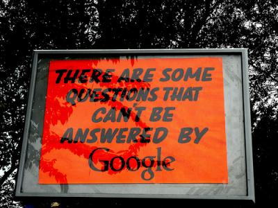 Google RSS reader answers questions