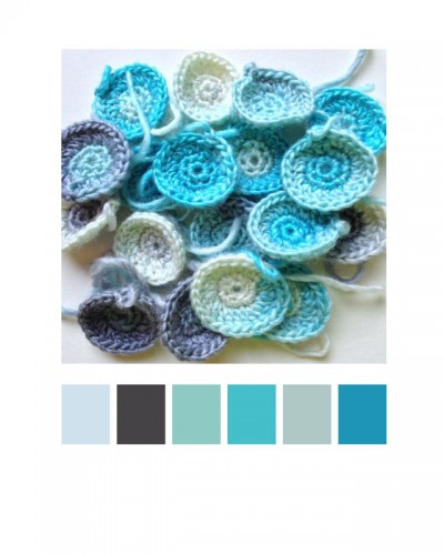 Blues and Grays by Wise Craft Handmade