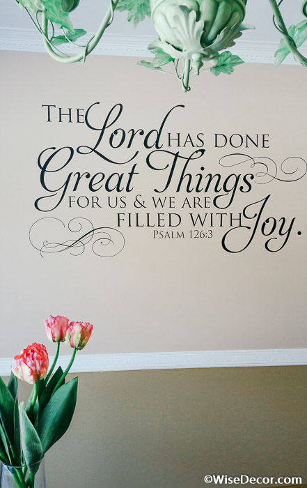 Psalm 126:3- The Lord has done great things for us on Outstanding Things  id=93420
