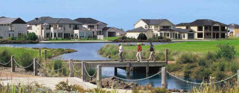 Suburb push by Sanctuary Lakes, the 'Toorak of the west'