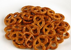 200 Calories of Salted Pretzels