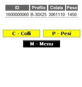 Terminale RF carico etichette