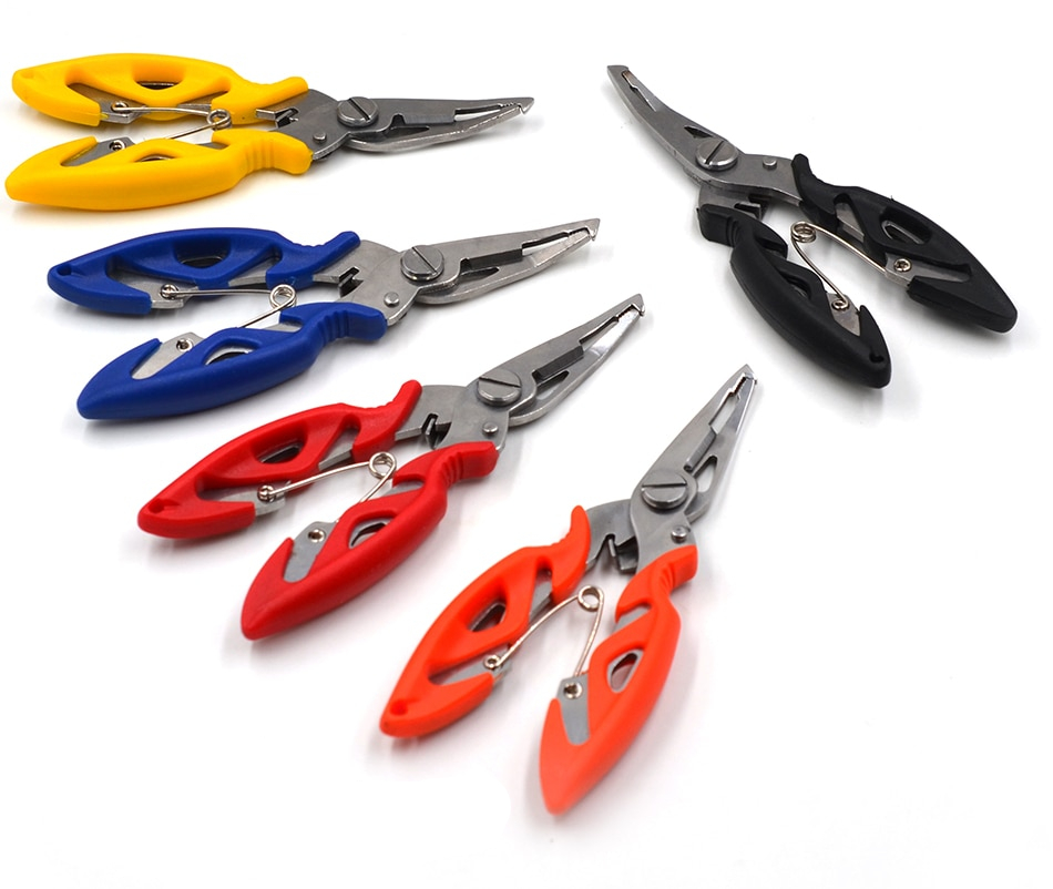 Compact Colorful Fishing Pliers
