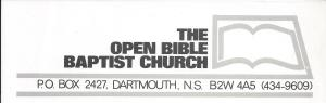 Open-Bible-Baptist-Church