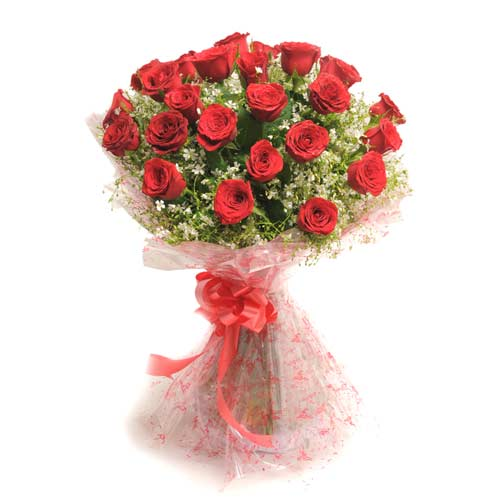 Rosy Romance 30 Red Roses