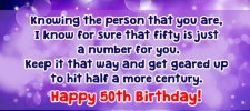 1163 50th birthday wishes - 50th Birthday Wishes