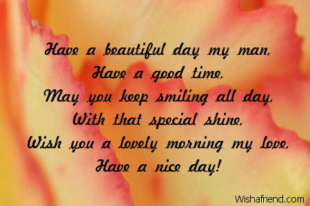 Good Morning Message For Boyfriend Another Day Another Sun