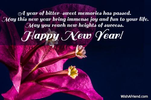 sweet new year greetings