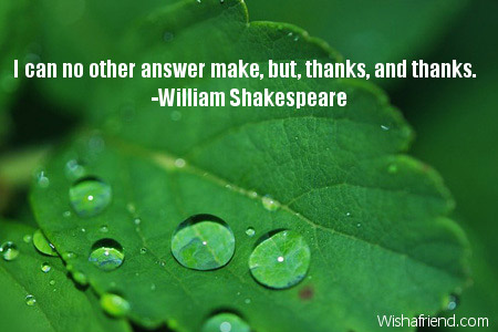 Image result for thanks quote