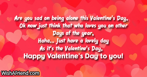 Valentines Day Alone Quotes