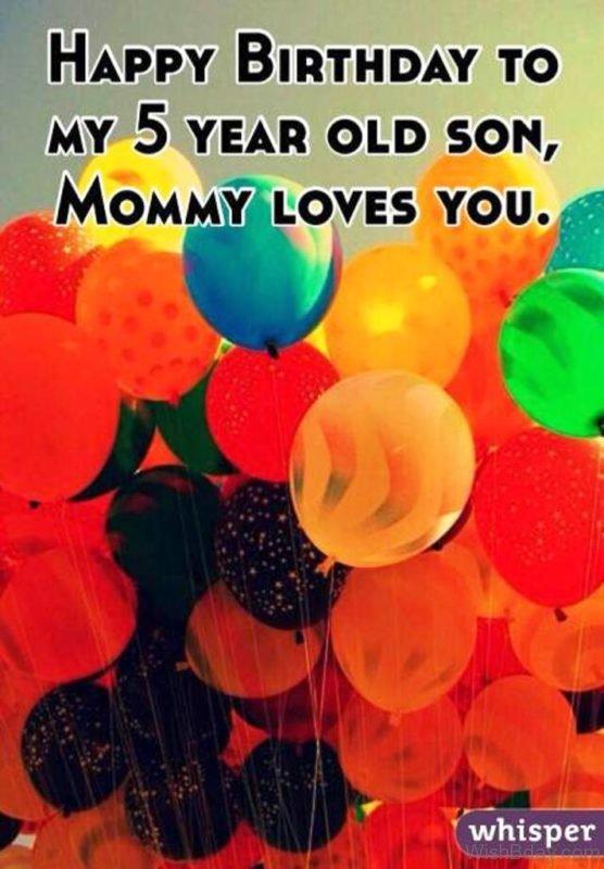 Happy Birthday My Quotes Son Wishes
