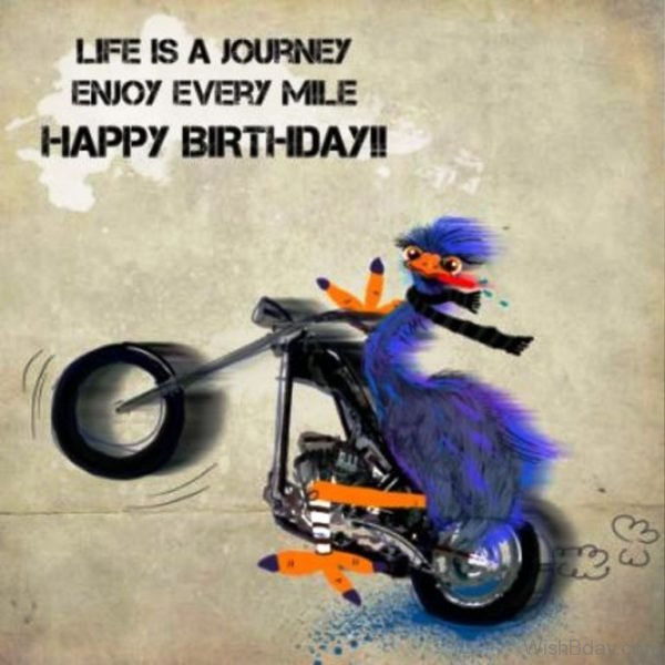 18 Biker Birthday Wishes