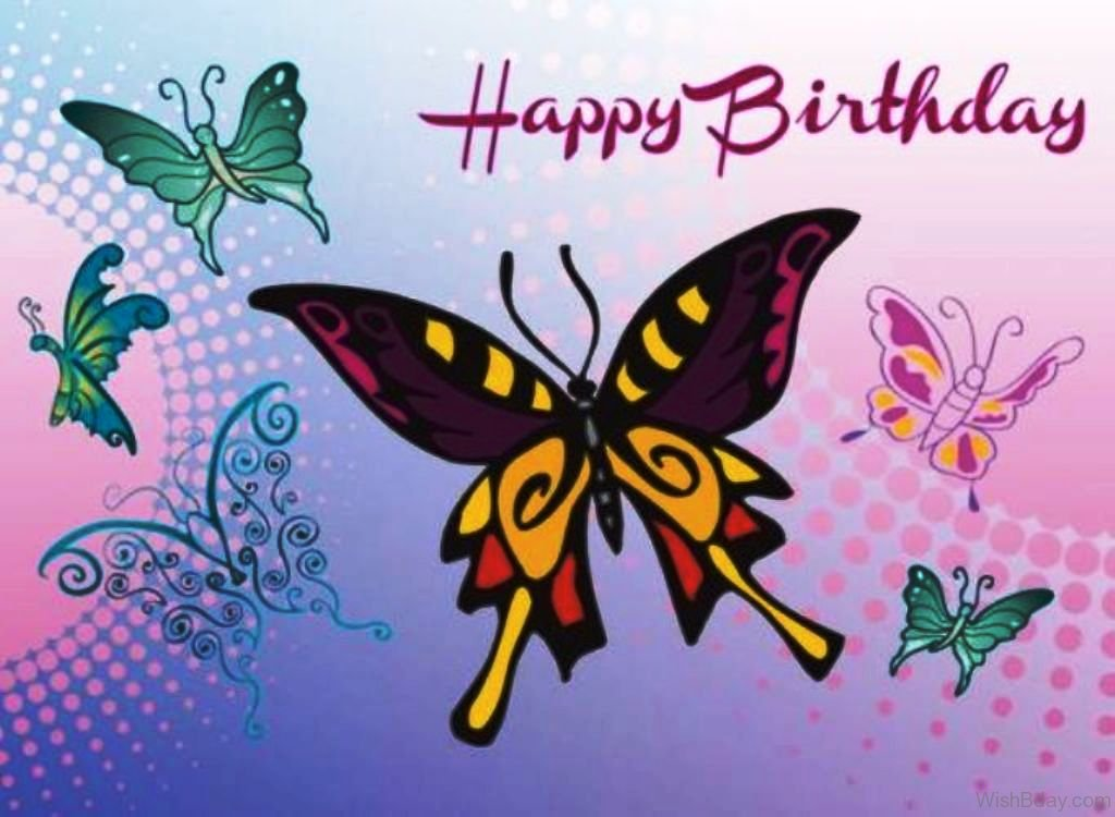 50 Butterfly Birthday Wishes