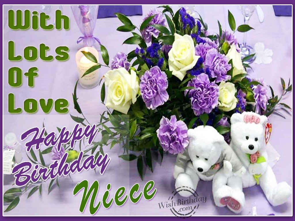 Happy Birthday Wishes Niece