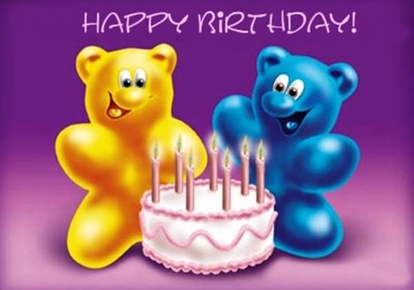 Birthday Wishes With Cartoon