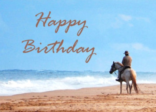 Birthday Wishes With Horse