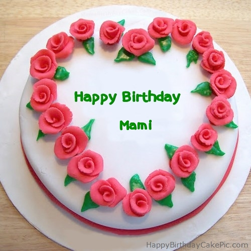 Happy Birthday Cake Hamza