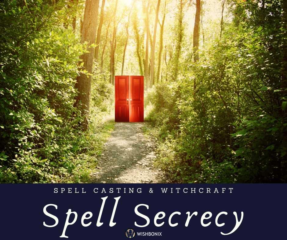 Spell Secrecy - Importance of keeping spells secret