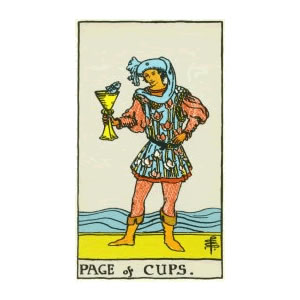 Tarot - Page of Cups