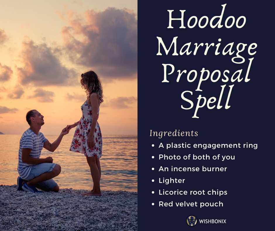 Hoodoo Marriage Proposal Spell