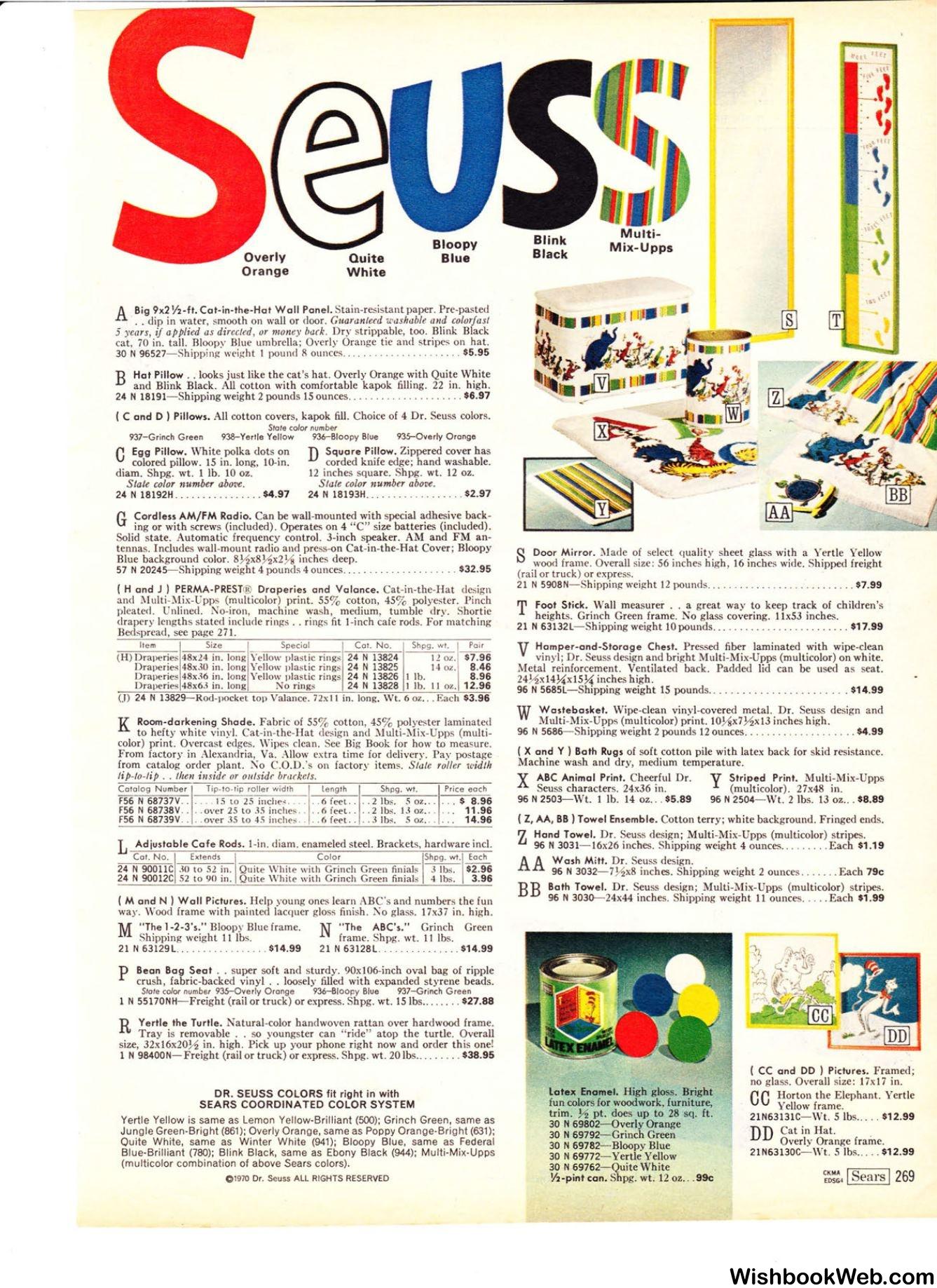 1970 sears wish book