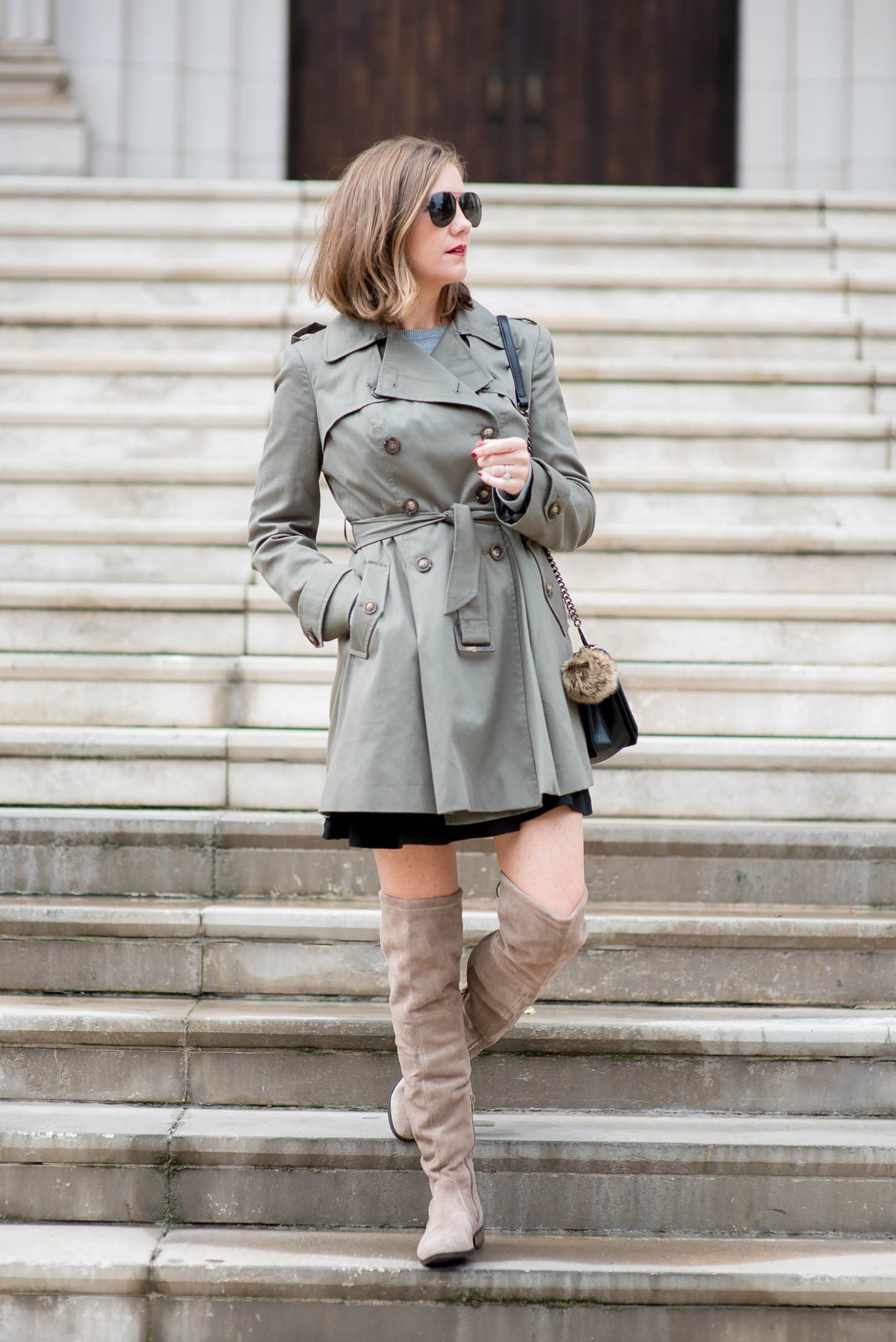 a-fall-trench-peplum-trench-over-the-knee-boots-fall-boot-trends-sole-society-valencia-stuart-weitzman-lowland-dupe