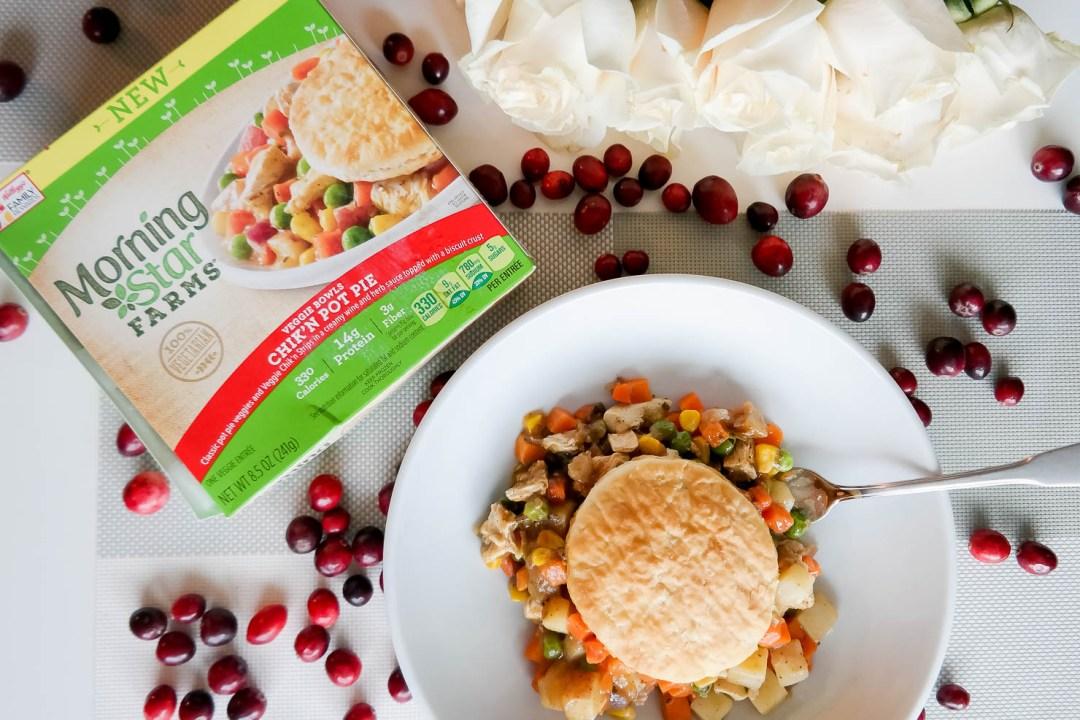 making healthier choices morningstar farms veggie bowls chicken pot pie healthy lifestyle veggie cuisine
