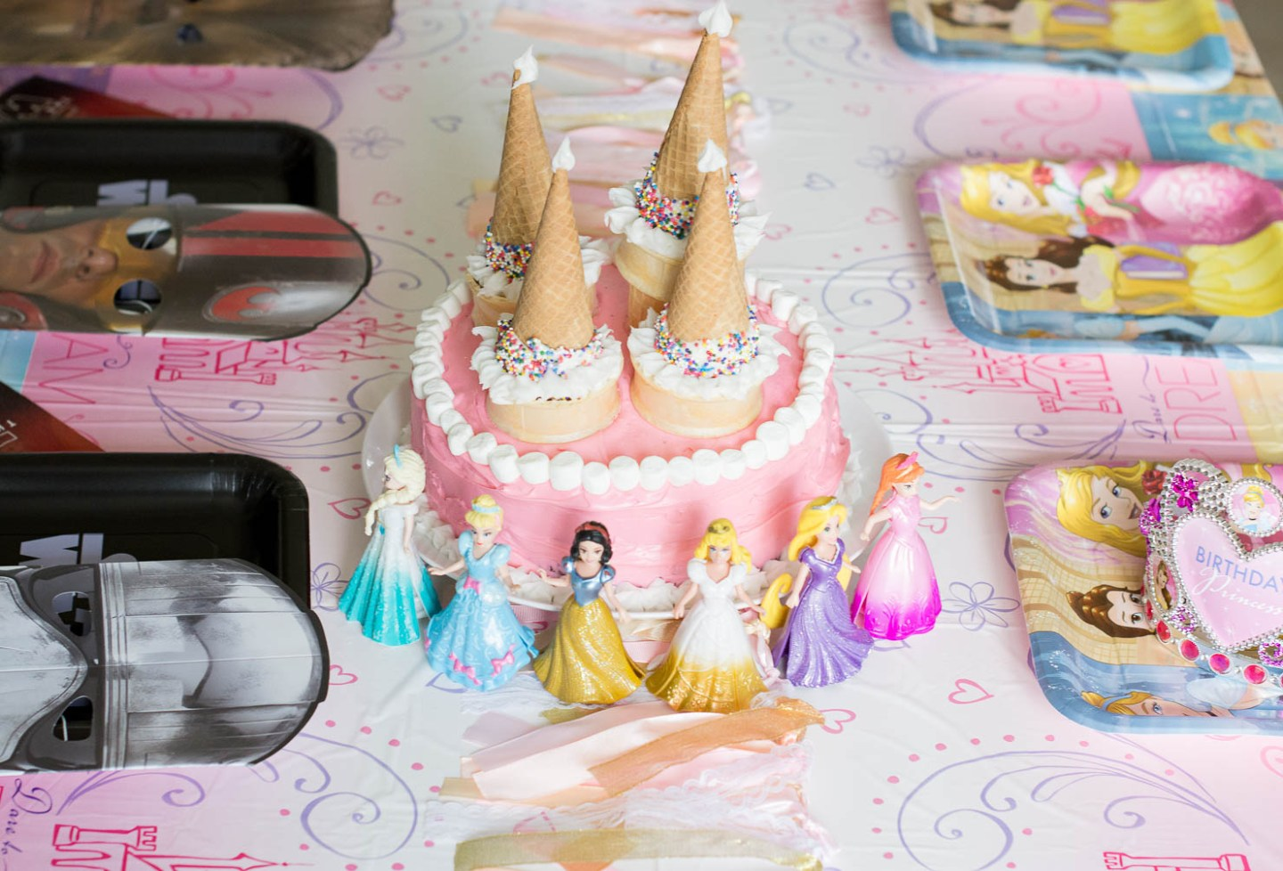 american greetings at target, decorating for a princess birthday party, an easy princess cake for your little princess, star wars the force awakens birthday decorations