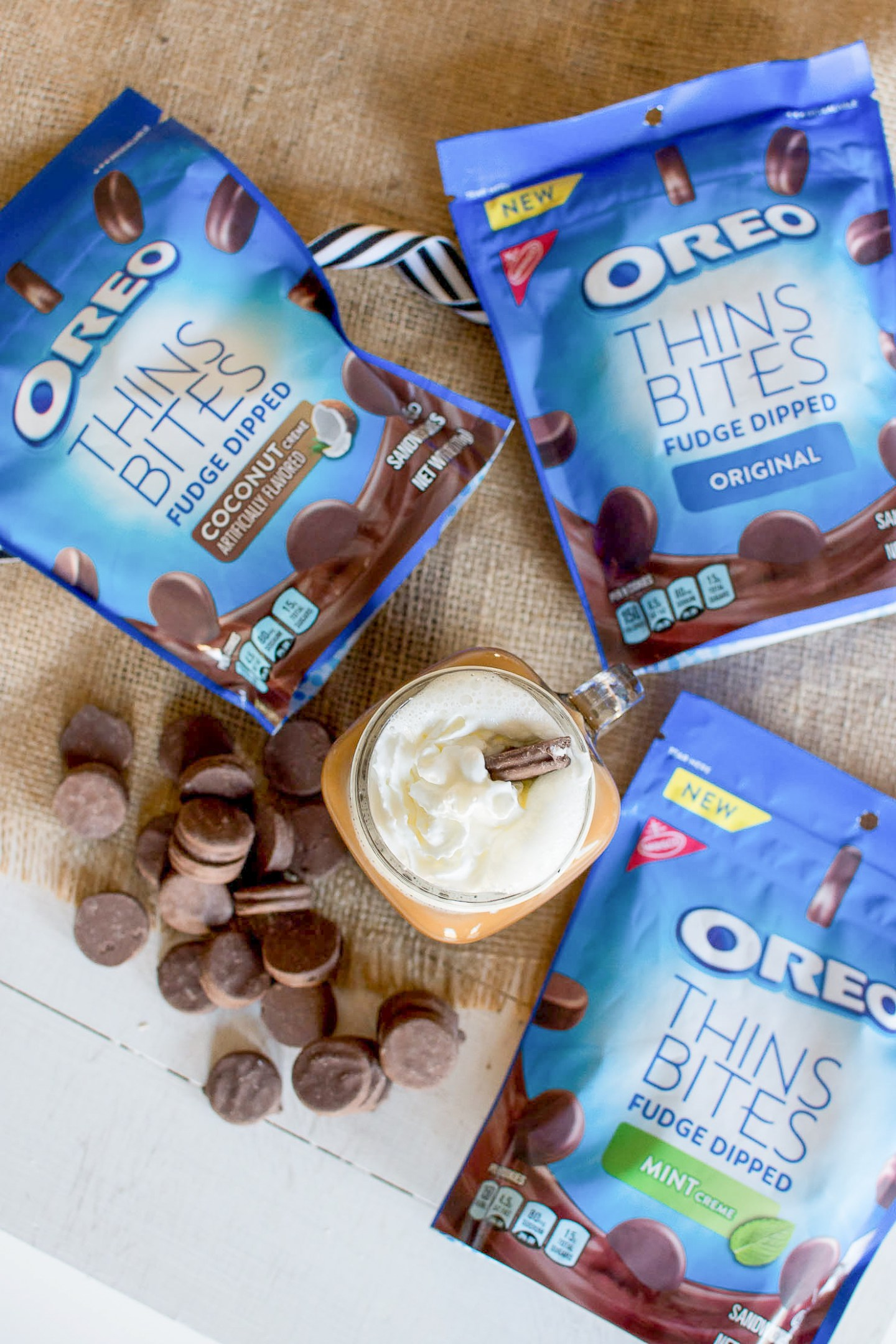 Oreo Thin Bites, coconut, mint, original flavor, the perfect afternoon snack, aftenoon coffee break, a low calorie treat, how I satisfy my sweet tooth and still watch calories