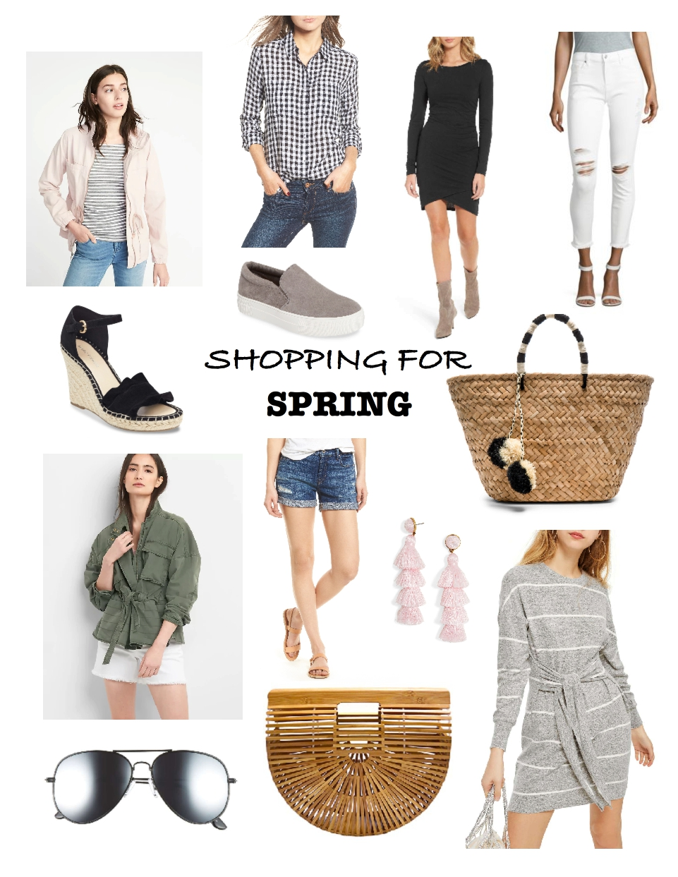 mom friendly spring outfits, spring 2018 fashion trends, affordable spring fashion, casual and versatile spring wardrobe essentials