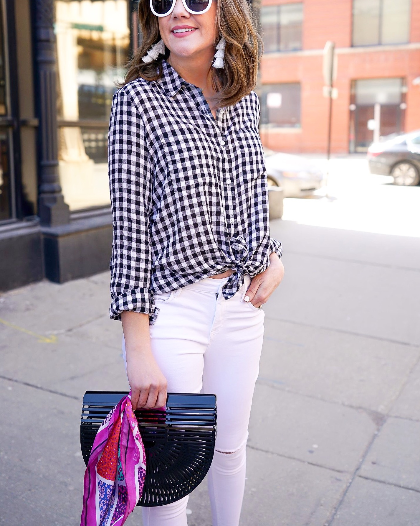 8 Must Have Summer Trends, gingham trend, gingham for grown-ups