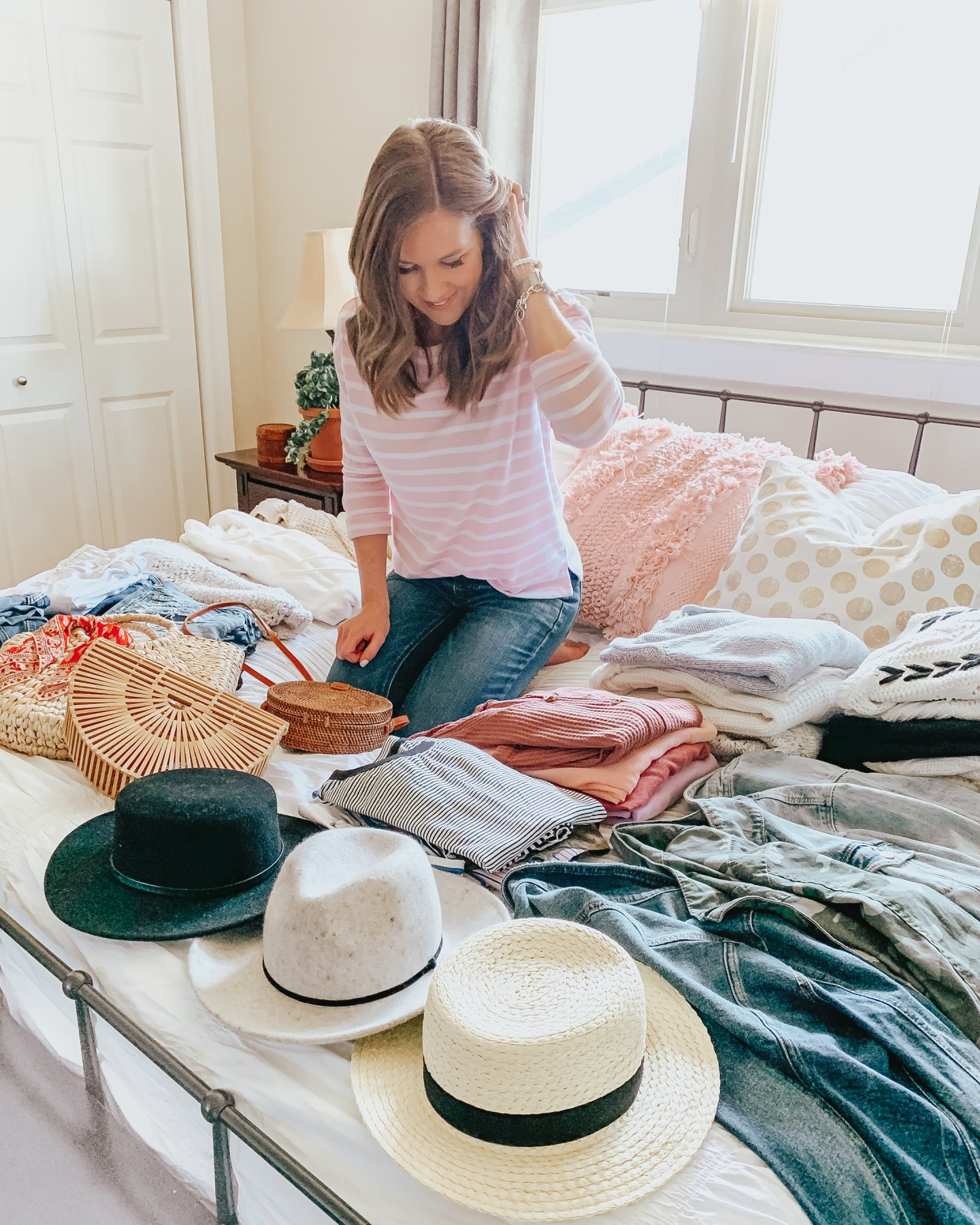 Organizing Your Bedroom Closet, Get More Out of Your Clothes, how to clean out your closet, closet organization, spring wardrobe, wardrobe basics