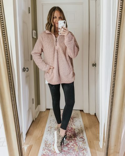 sherpa-pullover-leopard-sneakers-leggings-outfit-cozy-outfit