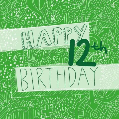 Happy 12th Birthday Boy Images