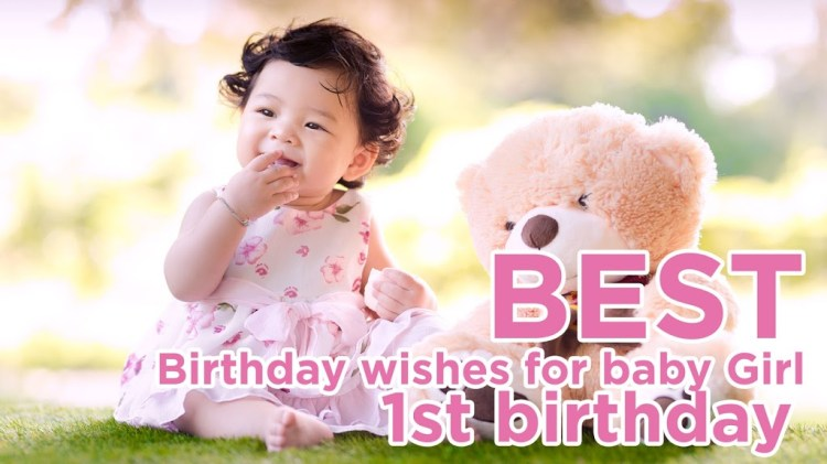 1st birthday wishes for baby girl