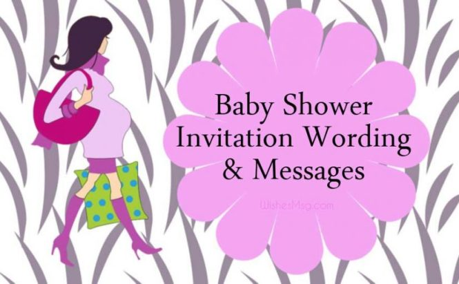 Baby Shower Invitation Wording And