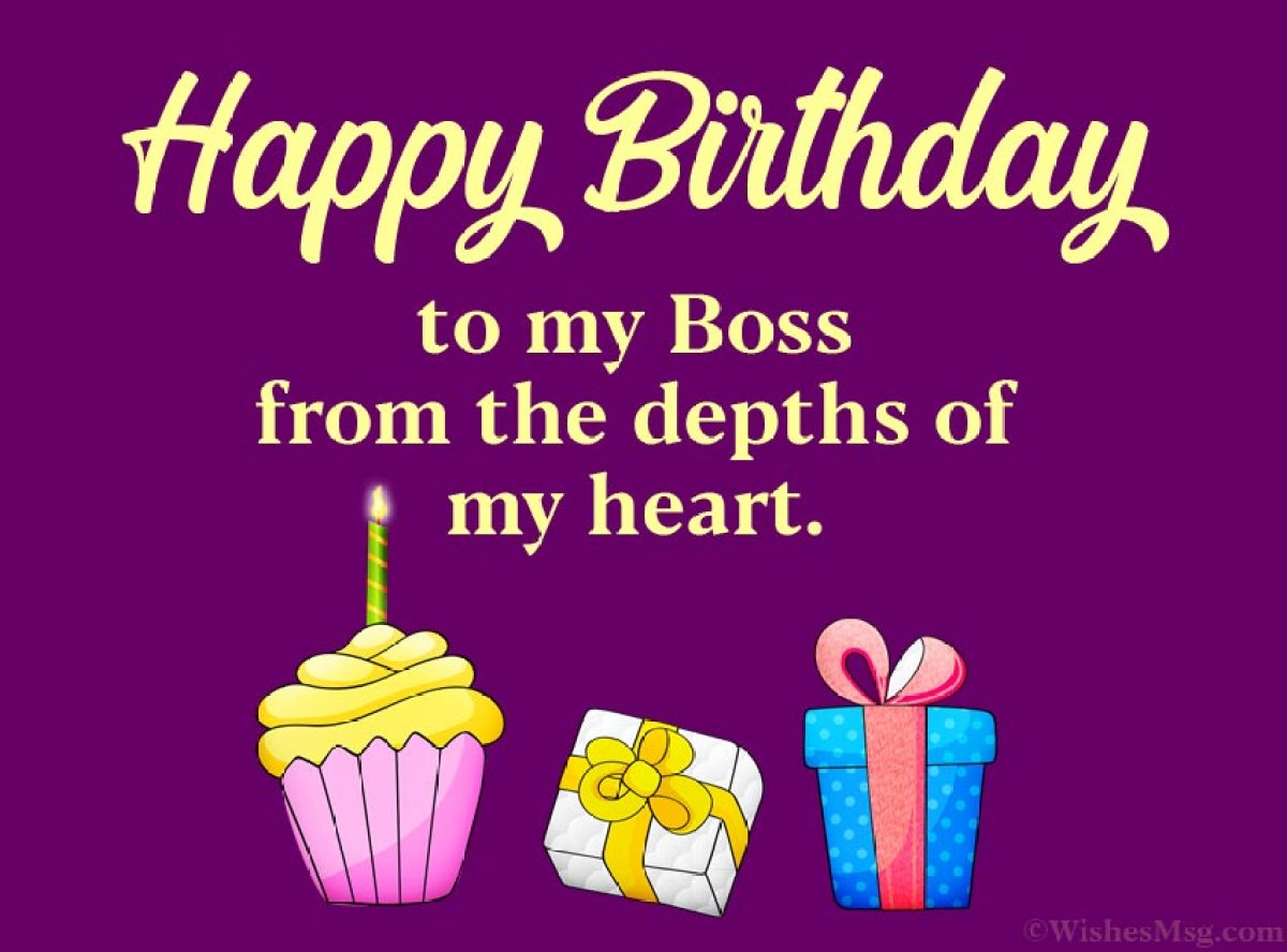 70+ Birthday Wishes For Boss : Happy Birthday Boss | WishesMsg