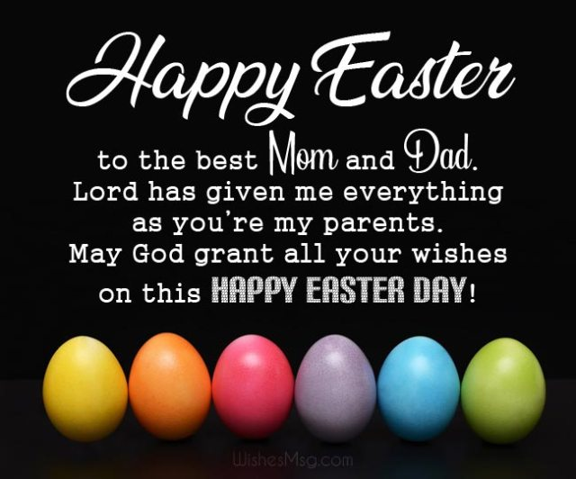 Easter Greetings Images For Parents