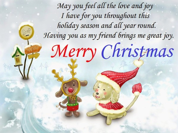Merry Christmas Wishes For Friends - Best Christmas Messages