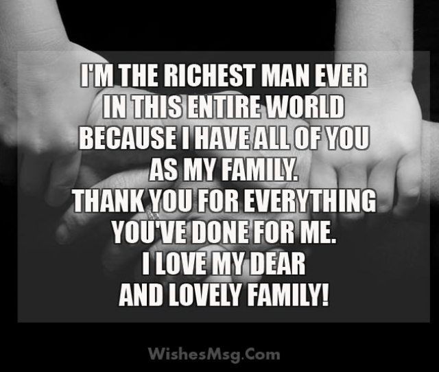 I Love My Family Messages And Quotes Images