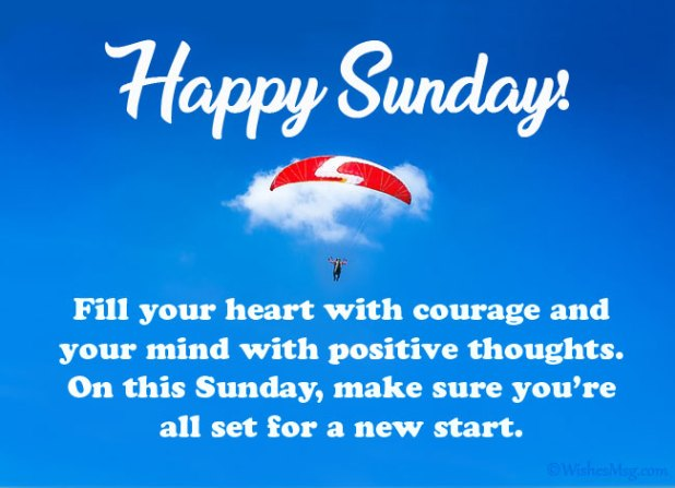 Sunday Wishes for Friends