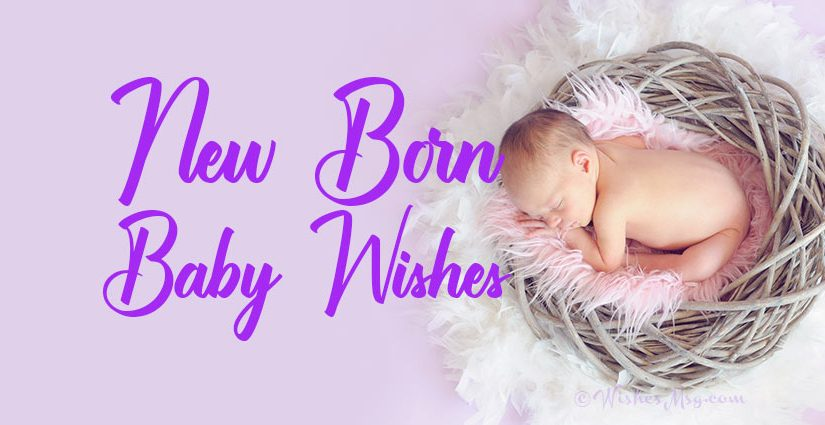 80+ New Born Baby Wishes and Messages | WishesMsg
