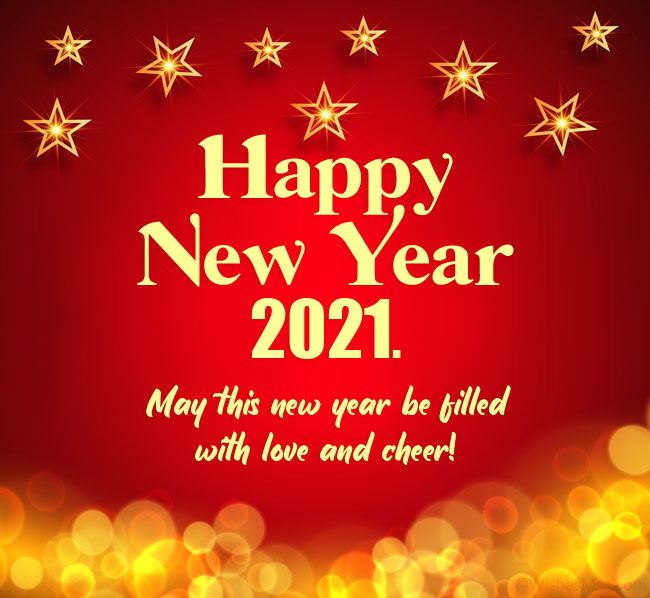 New year message for friend