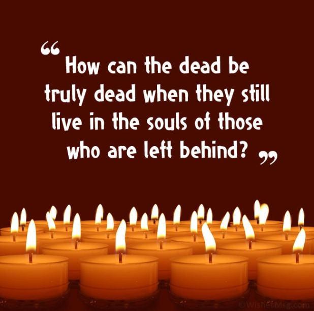funeral invitation message